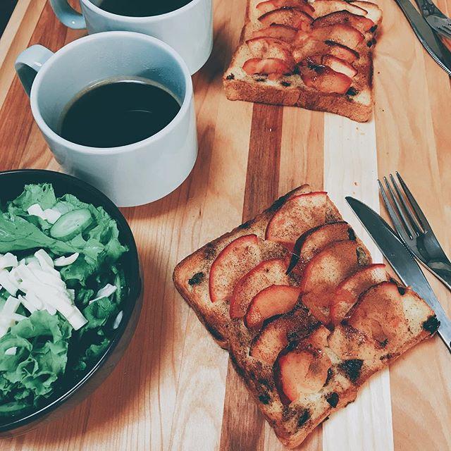 りんご トースト レシピ5