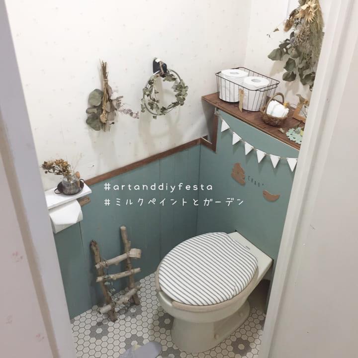 カフェ風おしゃれなトイレを作るポイント!2