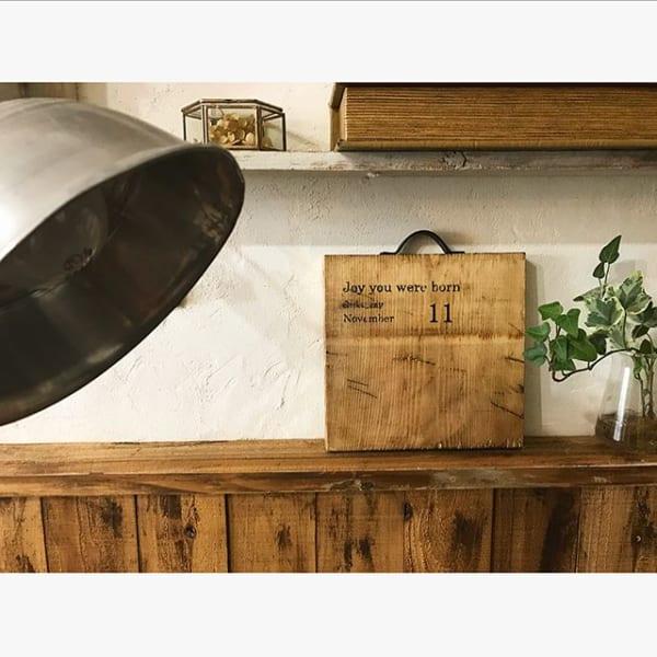 鍋敷きでカフェ風のインテリア2