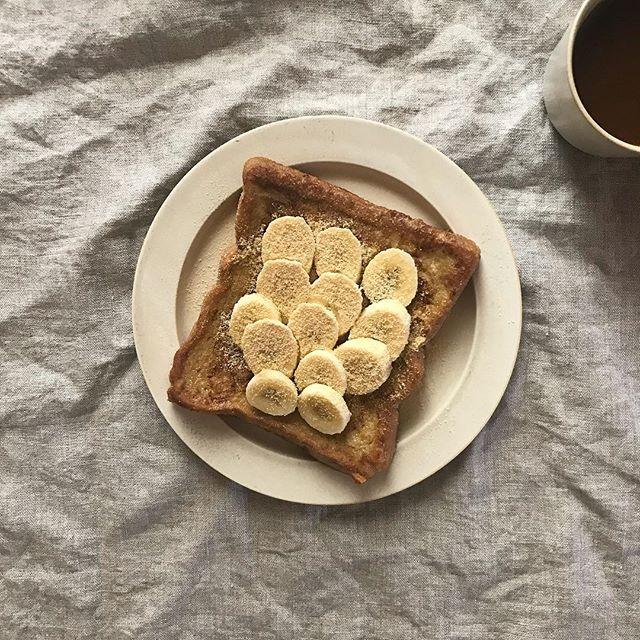 豆乳と黒糖のフレンチトースト