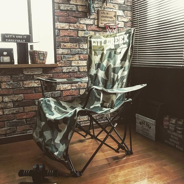 家具で演出するアウトドアインテリア3