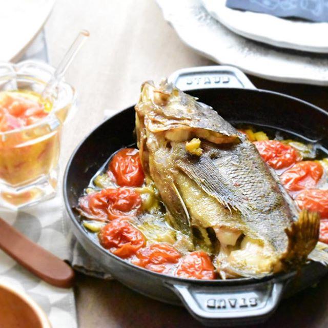 オーブンで焼くだけ!簡単な白身魚のグリル