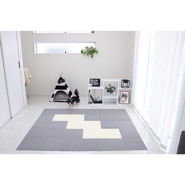文字通りものを置かない「シンプルなお部屋」4