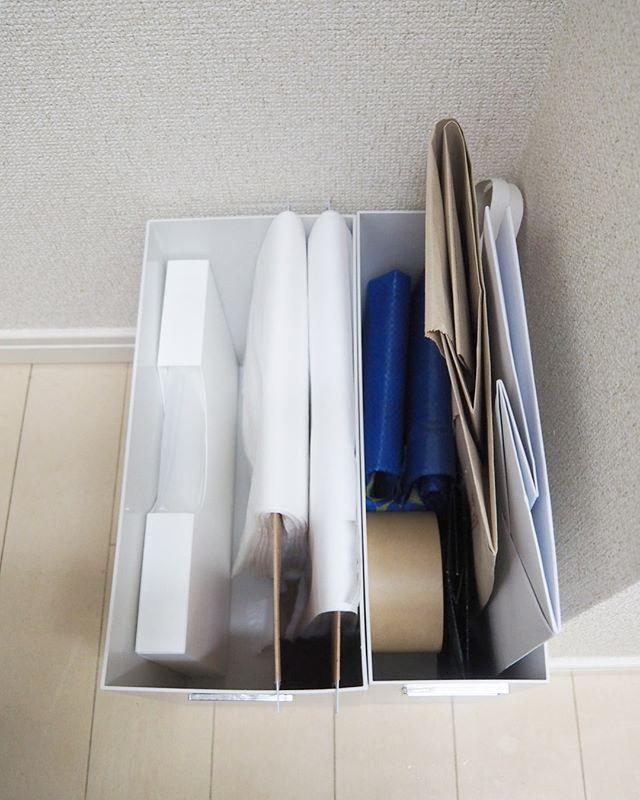 様々なアイテムを使ったゴミ袋収納10