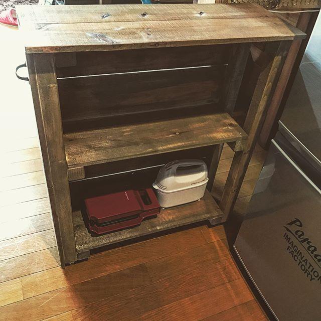 冷蔵庫横の隙間収納2