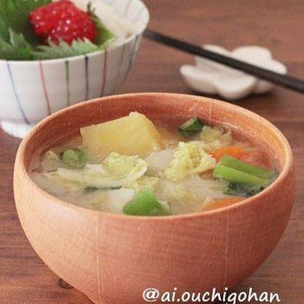 トロトロれんこん味噌汁
