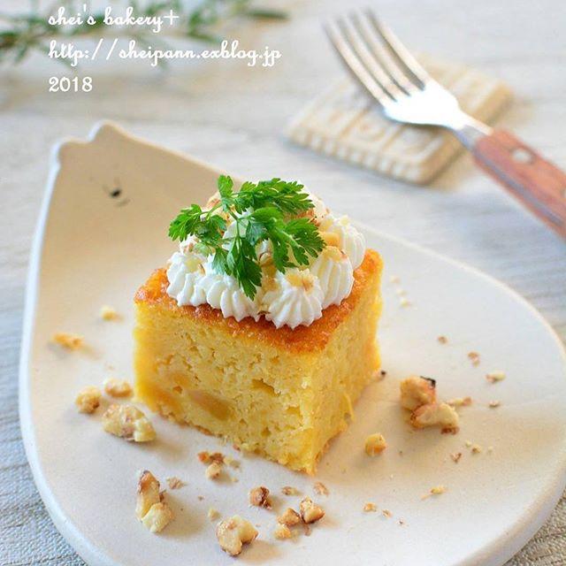 素材の味が楽しめるスイーツ!スイートポテトケーキ