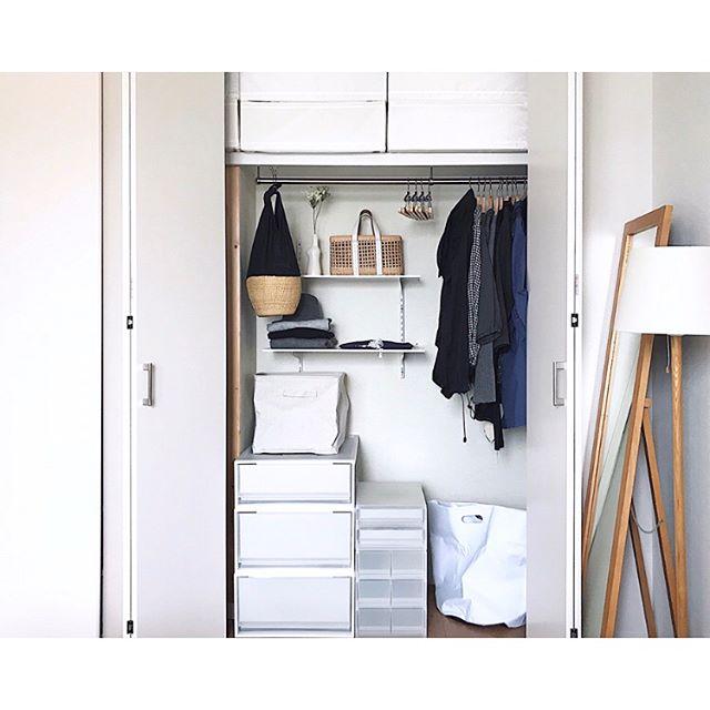 ニトリ・IKEAアイテムを活用した子供服収納アイデア☆6