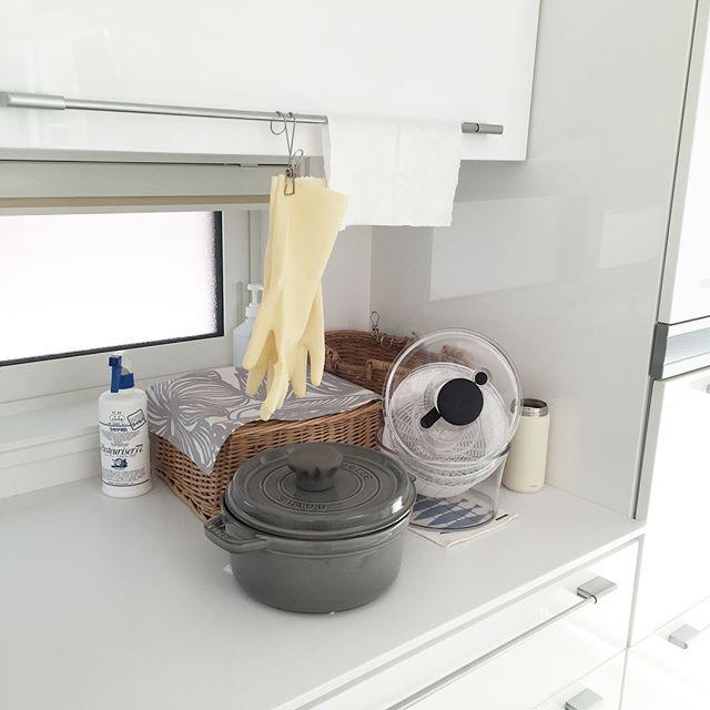 キッチンで使えるワイヤークリップ2