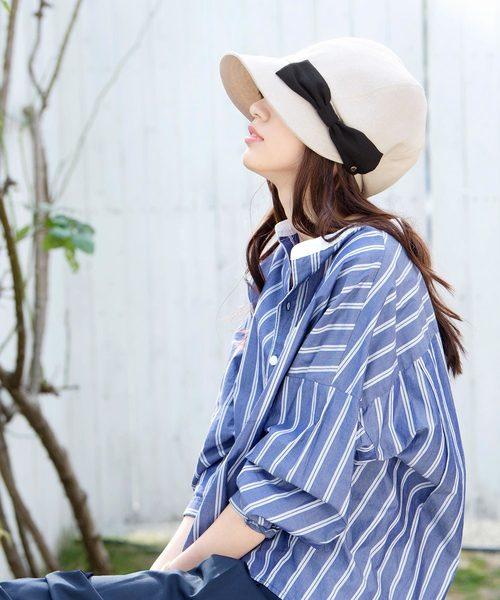 [帽子屋ONSPOTZ] イロドリ 洗えるUVキャスケット マニフィック 帽子 レディース 全11色 irodori