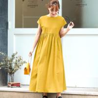 夏から秋にかけて着たいカラー♡マスタードイエローのカラーアイテム&コーデ集