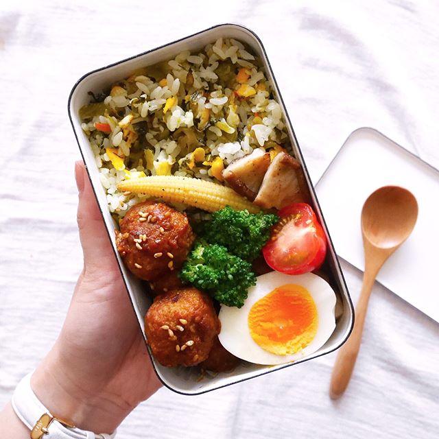 高菜チャーハン 簡単 作り方4