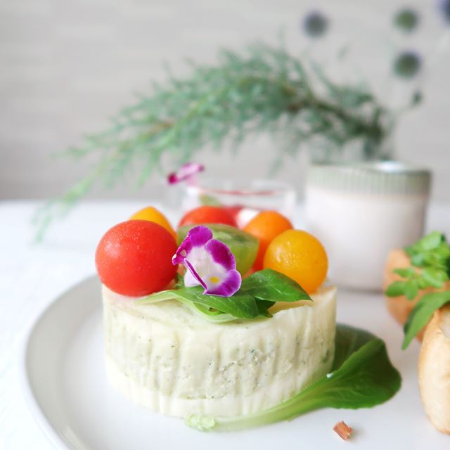 ポテトサラダケーキ