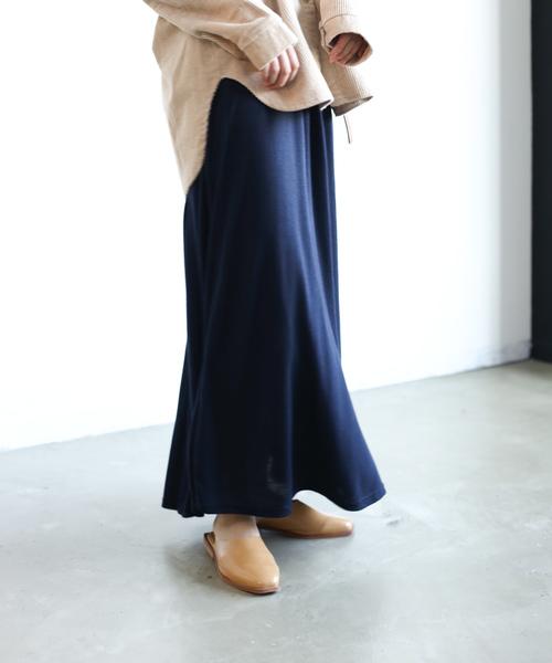 ネイビースカート7