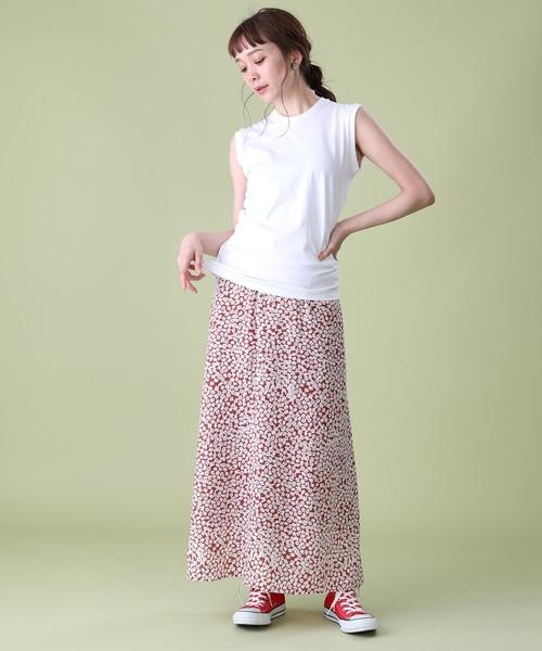[FREAK'S STORE] 小花柄プリントスカート