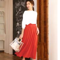 きれいめもカジュアルも《スカート》で女っぽく♡夏のスカートコーデ15選