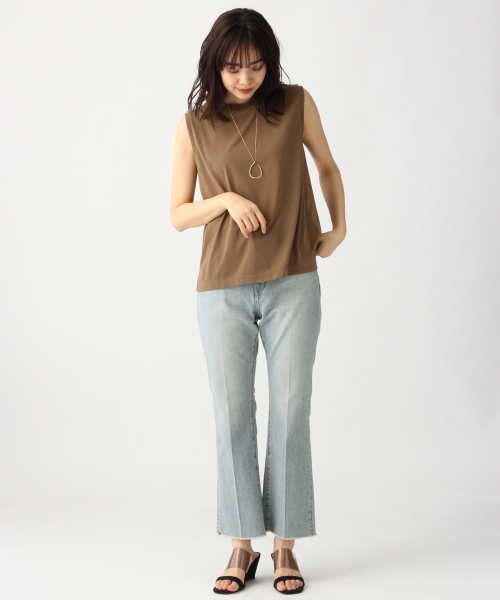 [apart by lowrys] PドライMIXノースリーブTシャツ2