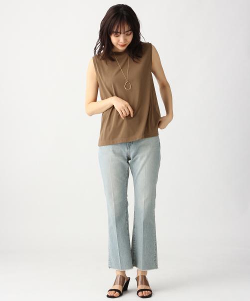 [apart by lowrys] PドライMIXノースリーブTシャツ 833638 2