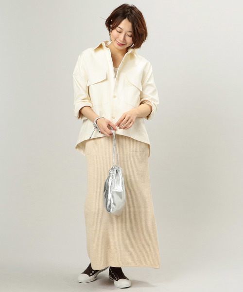 [archives] 綿麻シャツジャケット