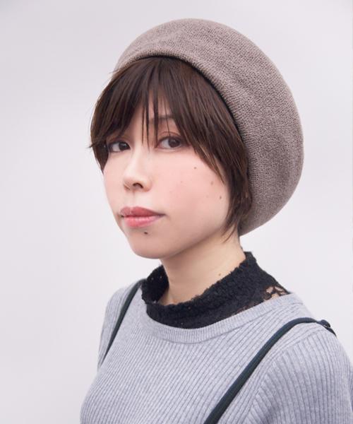 ベレー帽 ショート 髪型4