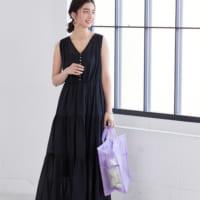 シンプルな着こなしでオシャレに見せる♡夏の黒ワンピコーデ15選