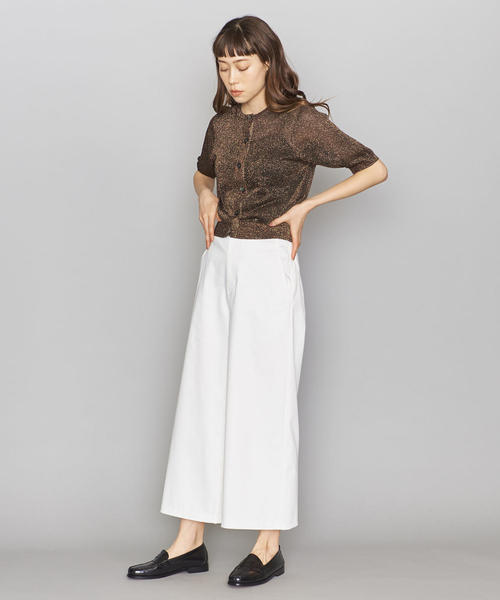 [Ameri VINTAGE] RELAX HIDE BELT PANTS