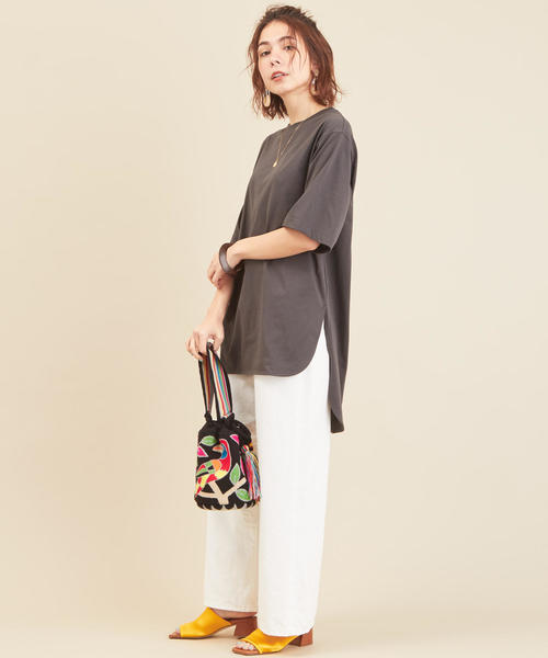[BEAUTY&YOUTH UNITED ARROWS] BY∴ コットンサイドスリットビッグTシャツ2