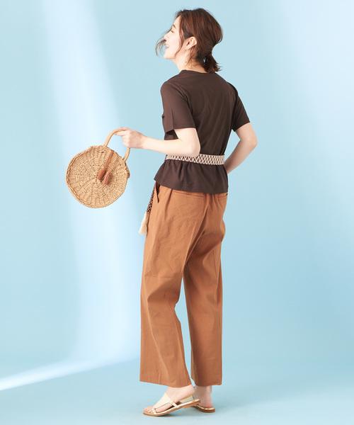 [COLLAGE GALLARDAGALANTE] 強撚クールTシャツ