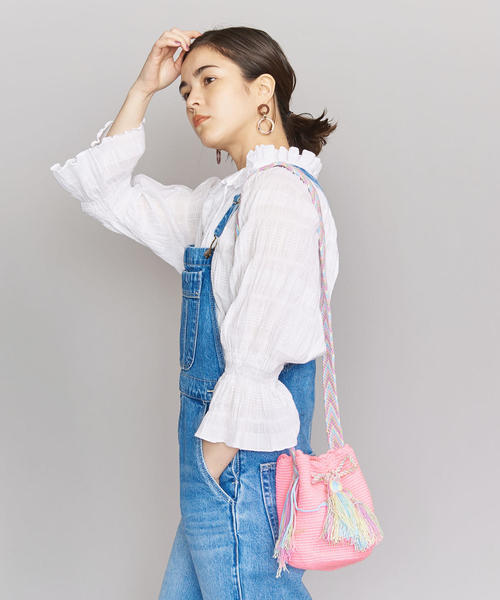 [BEAUTY&YOUTH UNITED ARROWS] <JARDIN DEL CIELO>ミニモチラバッグ/PINK