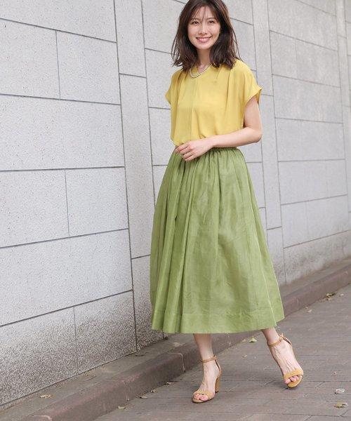 [BABYLONE] ベルオーガンギャザースカート
