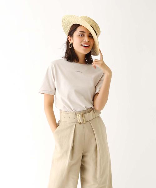 [aquagirl] 【別注】Americana ミニロゴTシャツ