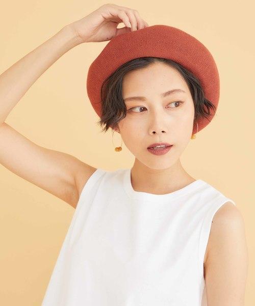 ベレー帽 ショート 髪型3