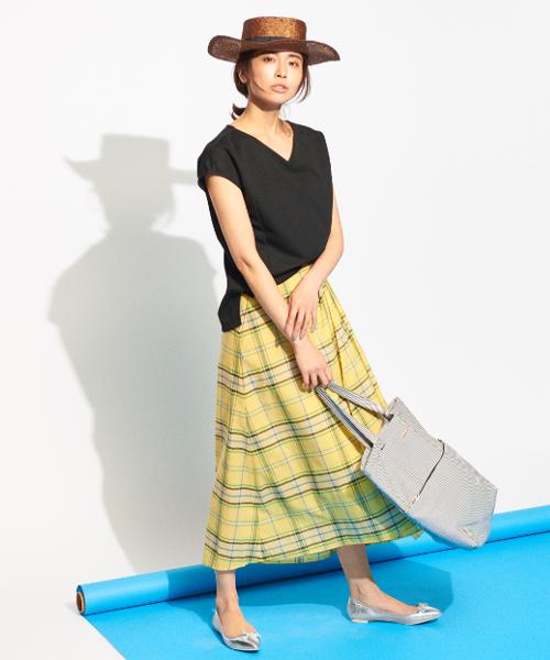 [BARNYARDSTORM] BARNYARDSTORM / 【otonaMUSE6月号掲載】マドラスチェックスカート