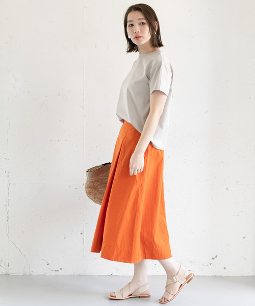 [URBAN RESEARCH ROSSO WOMEN] オックスカラースカート