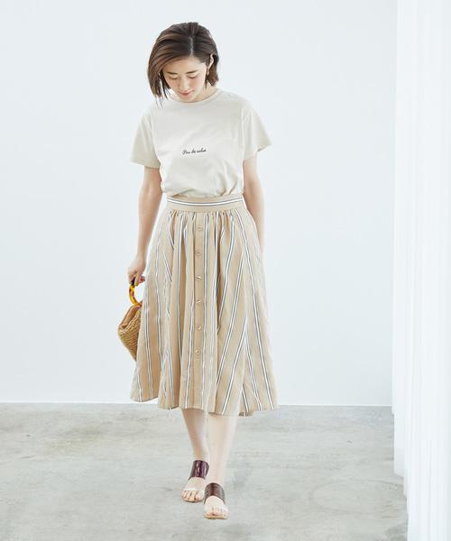 [ROPE' PICNIC] ロゴプリントTシャツ
