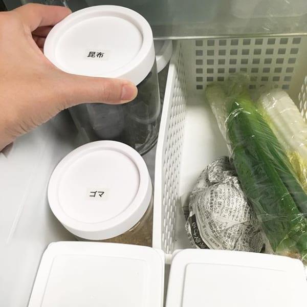 セリアのシンプルな保存容器