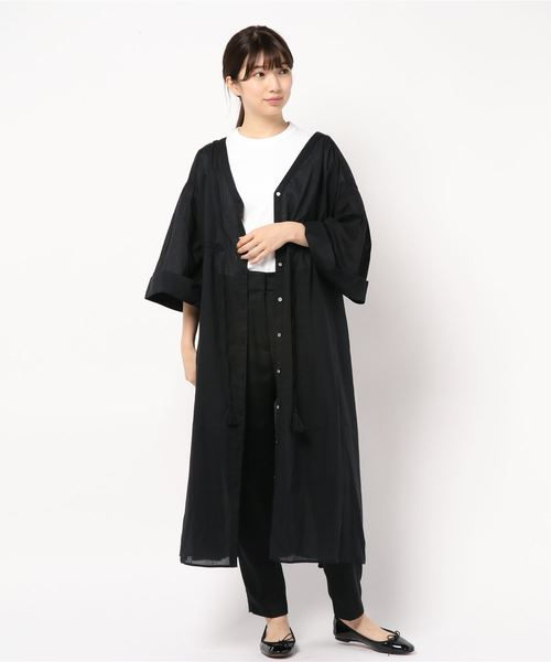 [CIAOPANIC TYPY] 【2WAY】コットンボイルシャツワンピース
