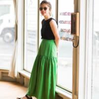 ティアードスカートコーデ集♡ボリューム感がエレガントなスカートで旬度アップ