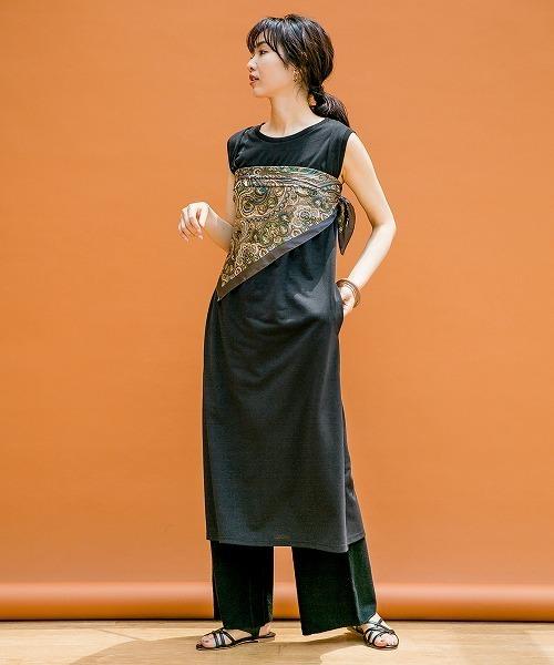 [apart by lowrys] ペイズリーオオバンスカーフ 841496