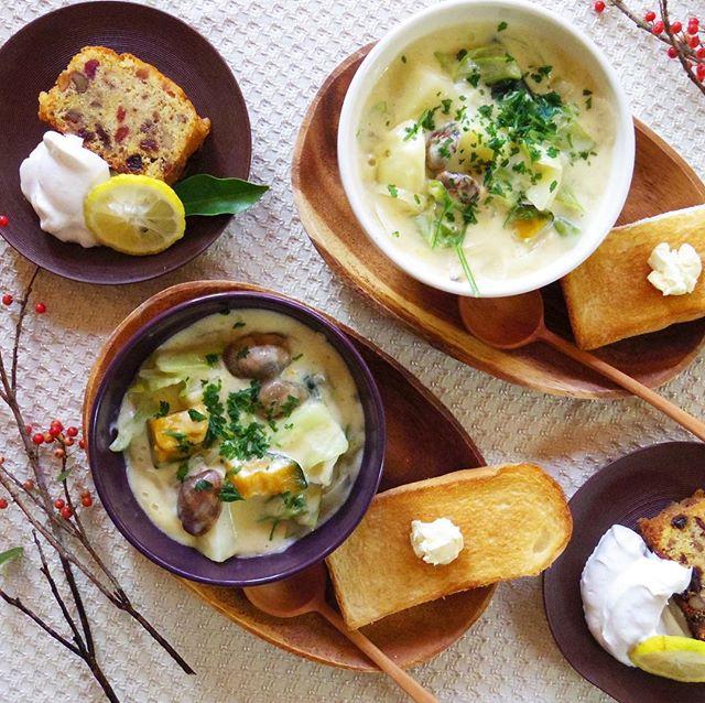 アサリとごろっと野菜のスープ