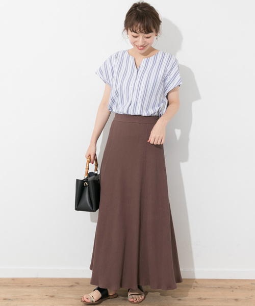 [URBAN RESEARCH] リブマーメイドカットスカート