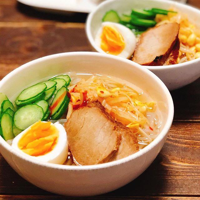 さっぱり冷たい冷麺