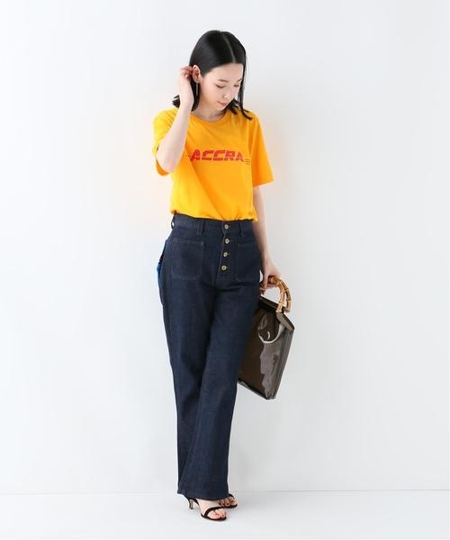 [IENA] POP CAVEN ACCRA Tシャツ