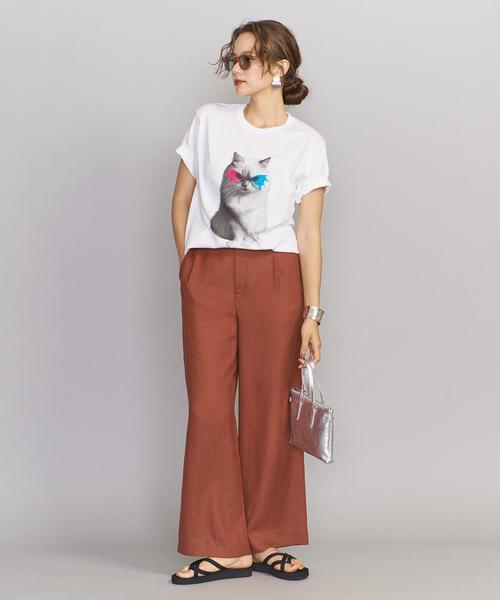 [BEAUTY&YOUTH UNITED ARROWS] <Paratiisi>MASK キャットTシャツ