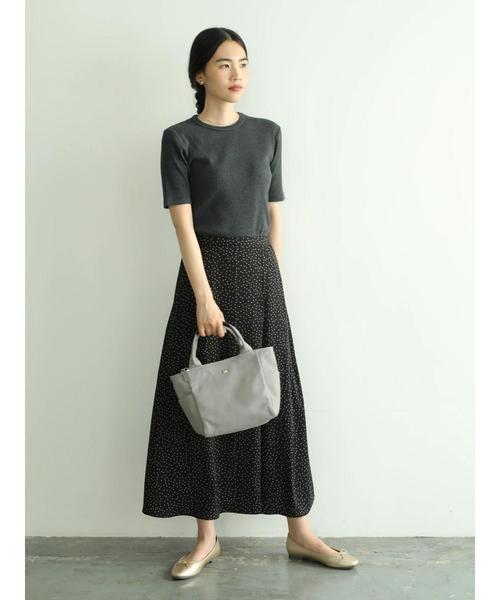 [AMERICAN HOLIC] ラップ風ロングスカート