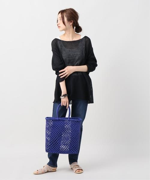 [Plage] Silk linen simple プルオーバー◆