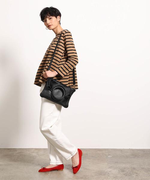 [ROPE'] 【MARCO BIANCHINI】【3WAY】ミニポーチ付きリングハンドルバッグ