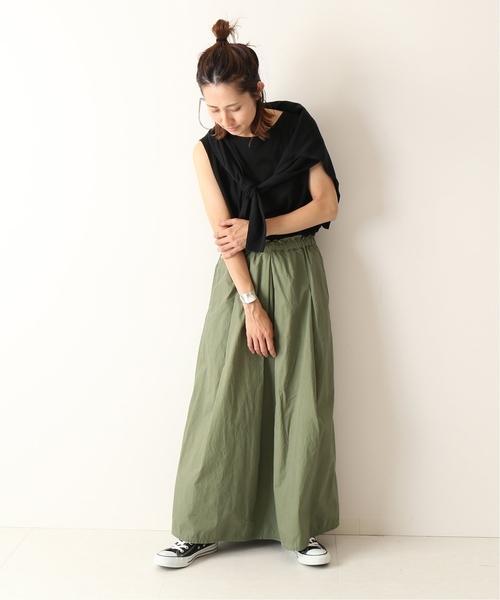 [Spick & Span] *製品染めスカート◆
