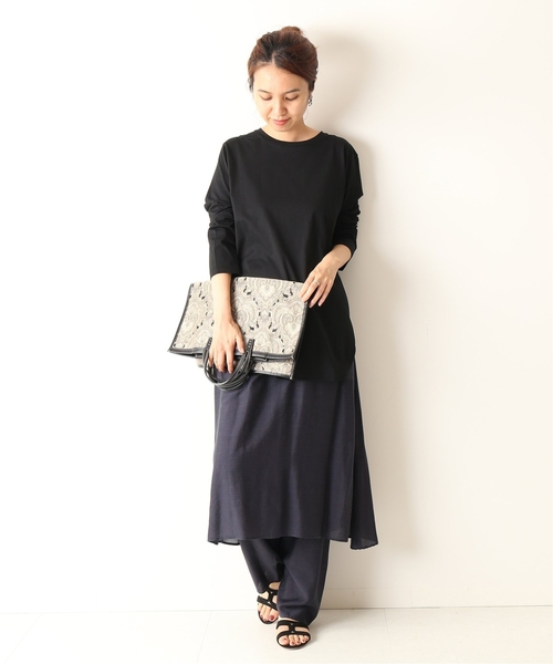 [Spick & Span] *ATON SIDE DRAPED スカートパンツ◆
