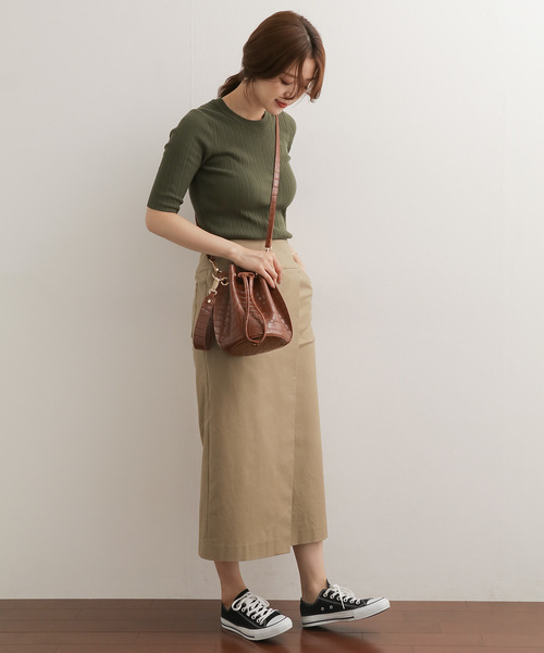 [URBAN RESEARCH DOORS] ラップストレートスカート